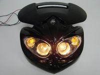 Black Street Fighter Head Light Fairing For Buell XR CRF DRZ KLX KLR Naked Bike