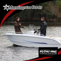 15ft racing center steering console boat