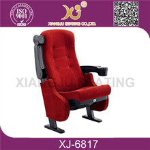 XJ-6817 floor mounted good quality durable used theater chair