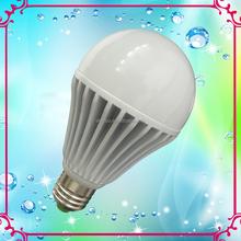 2015 hot sale 9w LED plastic bulbs 9W 12W 15W E27 B22 led light bulb with CE certification