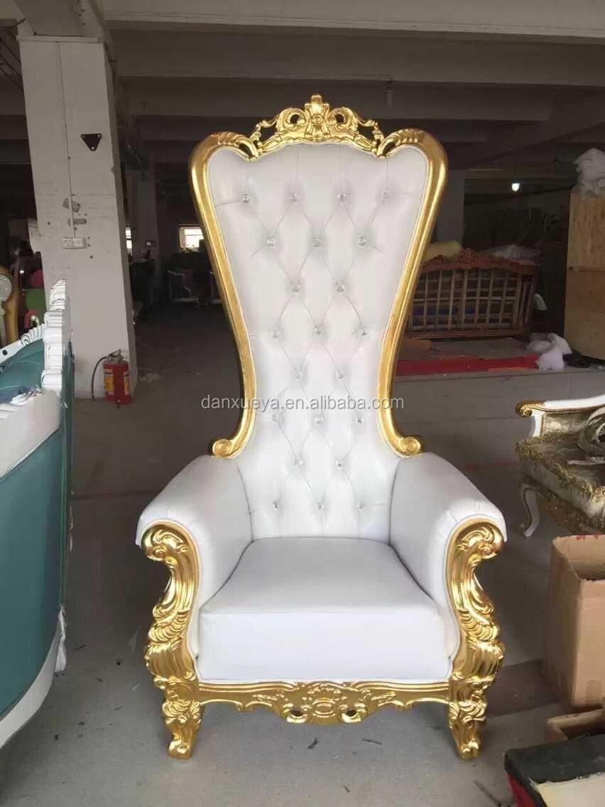 QQ20150729141139.jpg - Danxueya- White Throne Chair Luxury High Back King Throne Chair For