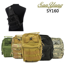 Nylon Unisex Tactical Utility Chest Sling Pack Outdoor Sport Single Shoulder Man Bicycle Backpack