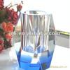 Wholesale office stationary crystal pen holder glass pen holder for sale