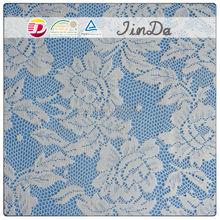 Hot sale jacquard elastic lace fabric
