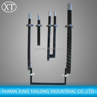 SiC heating element for furnace, silicon carbide heating tubes, sic heater