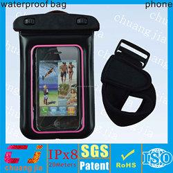 mobile phone custom waterproof bags