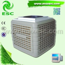 Top discharge Plastic Low Noise 20000 m3/h evaporative cooler