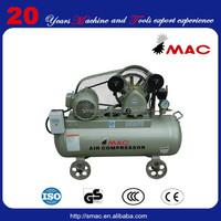 1.5KW 70L low price AC portable compressor SMV-0.16/8