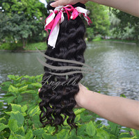 Angelbella Alibaba Express Dark And Lovely Peruvian Curly Hair Weave Natural Color Cheap 27 Piece Human Hair Weave