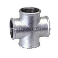 Alibaba Hot Sale High quality carbon steel EN 10216-2 cast pipe fitting cross class 150 female