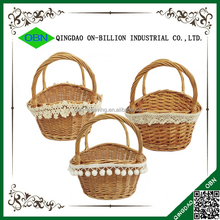 Cheap bulk decorative wicker easter baskets wholesale
