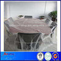 Hotel/Home Clear Plastic Disposable Table Covers
