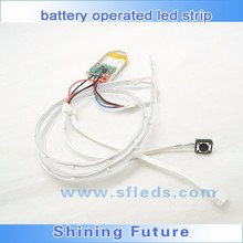 Battery operated RGB led strip for led light for shoe sole