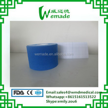 Elastic cotton latex free waterproof hypoallergenic 5cm*5m kinesiology tape
