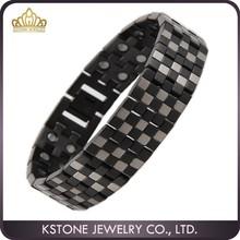 KSTONE germanium and titanium bracelet wide band jewelry bracelet magnificent bracelet