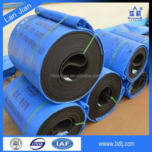 China factory high tensile endless cotton fabric conveyor belt / rubber conveyor belt