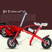 Super light 12 inch folding bike/children e bike/folding kids bicycle