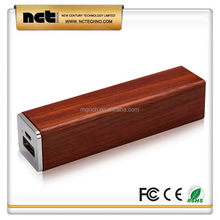 Branded export gift wood charger