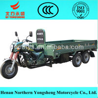 200cc water cooling 3 wheel motor vehicle for cargo