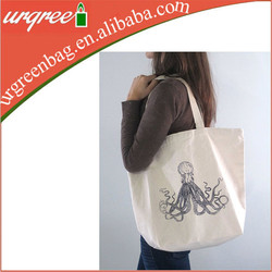 standard size cotton tote bag, recyclable shopping cotton bag