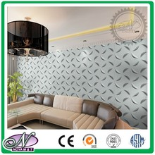 Hot sale corrugated hall 3d wall paper pictures of nude women