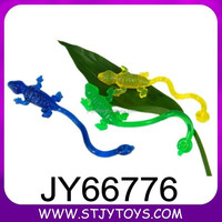 TPR jelly lizard toy sticky on the wall and window toy