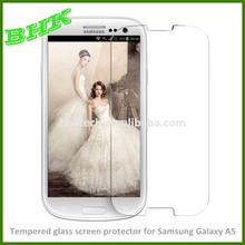 HOT SALE High clear Tempered glass screen protector for Samsung Galaxy A5
