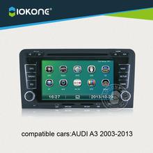 "Iokone 6.2"" In Dash HD Touch Screen Car DVD Player For Audi A3"