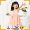 new style baby girls party wear dress pink color princess dress for kids