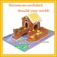 toy for school real brick toy made of potter clay building blocks HiBricker