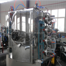 PVD coatings / Vacuum coating system for metallizing metal components / PVD coating systems