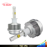 2015 wholesale price auto parts 2S H3 car headlights with 30W led bulb all in one