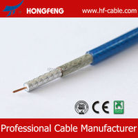 Sell Factory Price High Qualtiy 75OHM low dB loss cable satellite rg6 tv
