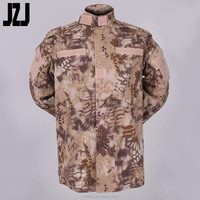 Men's 65% Polyester 35%Cotton Camouflage Military Pants&Jackets