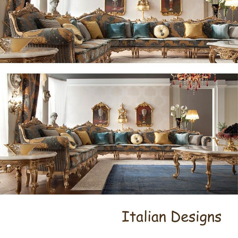 Aesthetic italian sofa designs classic living room for Latest italian furniture designs