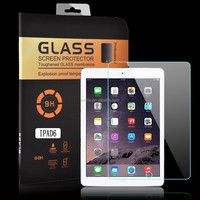 Tough Explosion Proof Real Tempered Glass Film Screen Protector For Apple iPad Air 2