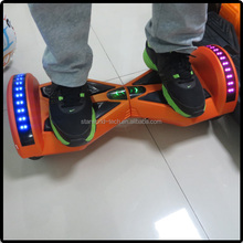 Smart innovative electric board self balancing two wheel scooter with bluetooth speaker and LED lights