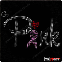 Bulk motif breast cancer iron ons