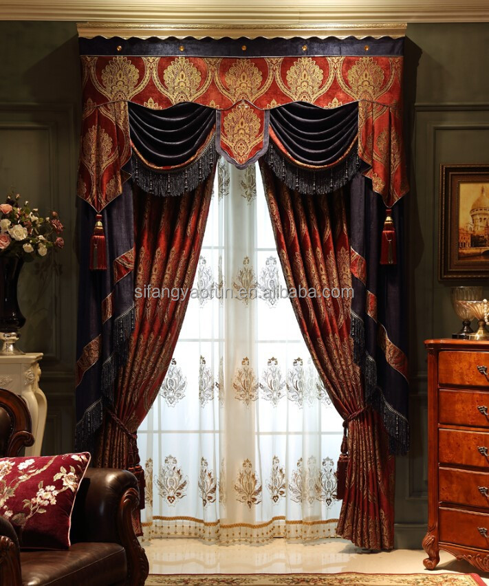 Best Sale Luxury Latest Curtain Designs 2015 For Home Buy Curtain Drapes Bl