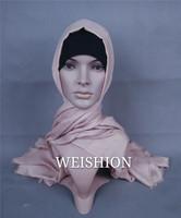 HJ067 high quality malaysia scarf muslim cotton scarf turkish shawls