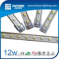 Epistar SMD5050 RGB Warm White LED Rigid Strip Light waterproof DC 12V