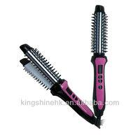 Hair loss treatment Detangling hair brush, plastic hair brush, round hair brush