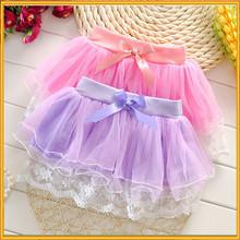 La nouvelle vêtements pour enfants coloré jupe coréenne jupe enfants Tutu jupes gros ZZJ-DR-237