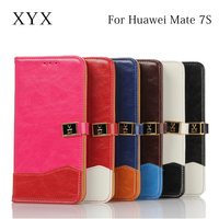 China factory wholesale smart mobile phone accessories flip cover case for huawei ascend mate 7S