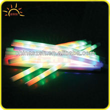 different color LED swimming foam stick for summer nights