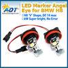 7000K White LED FOR BMW Angel Eyes lights Ring Marker Bulbs E60 E90 E92 E70 E71