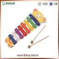 La música de madera lindo xilófono de juguete piano, xilófono de juguete del teclado