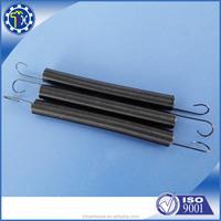 metal black tension spiral spring