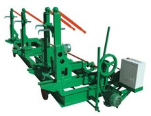 vertical band sawmill with cnc carriage automatic wood cutting machine