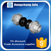 Surplus stock EPDM material dual ball threaded flexible rubber joints